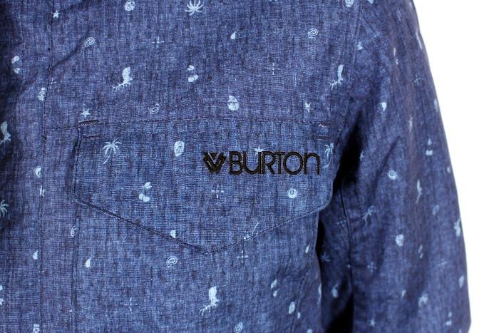 Kurtka Burton Twc Search And Enjoy (Denim Flash Print)