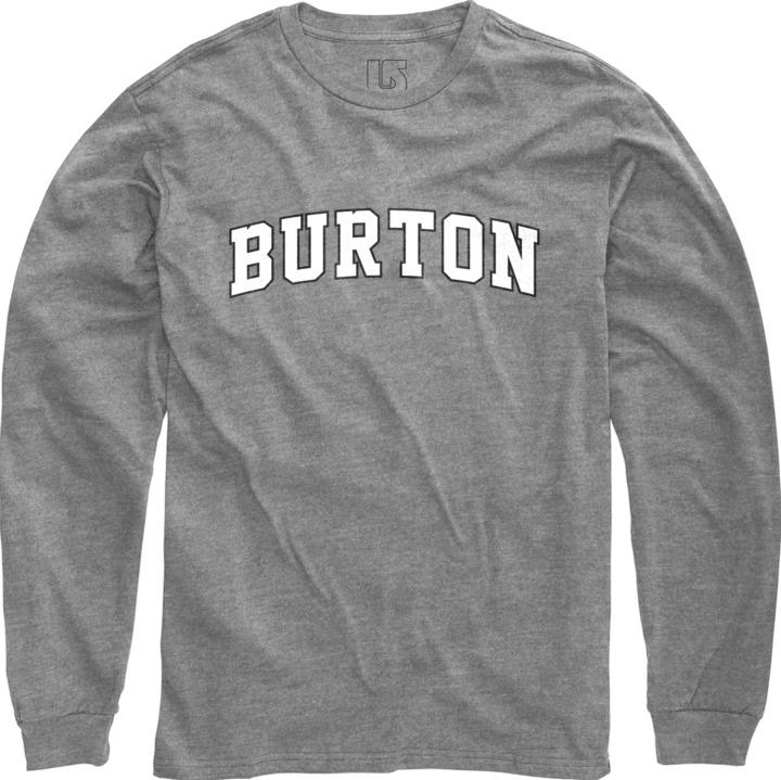 Longsleeve Burton College (Gray Heather)