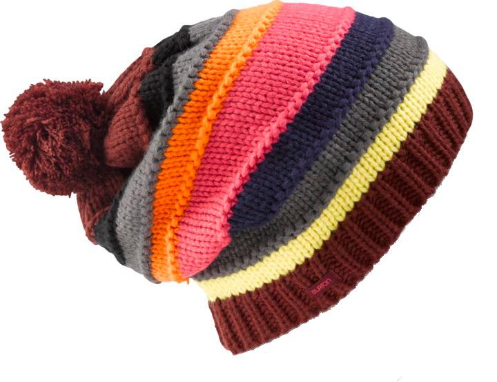 Czapka Zimowa Burton Candy Stripe (Sangria)