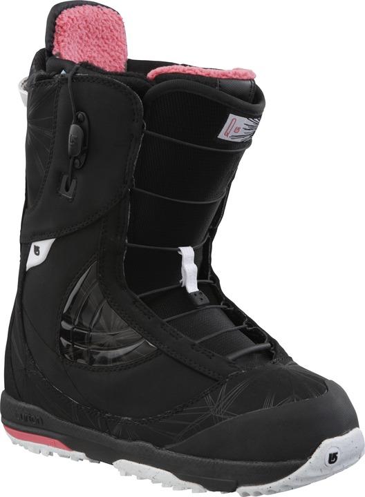 Buty Snowboardowe Burton Q (Black/White/Rose)