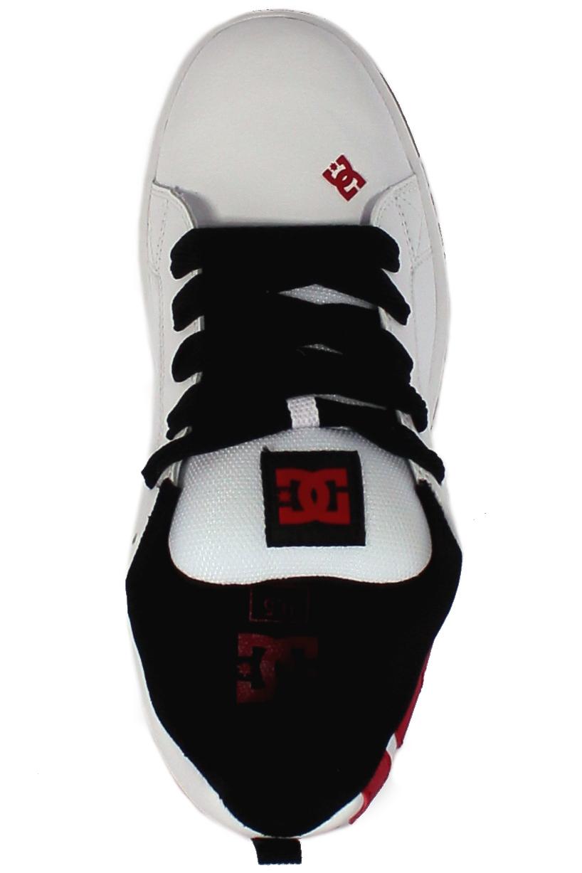 Buty Dc Court Graffik (White/ Athletic /White)