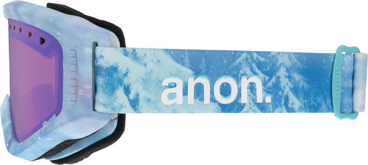 Gogle Dziecięce Anon Tracker (Frozen ©disney / Blue Amber) W16