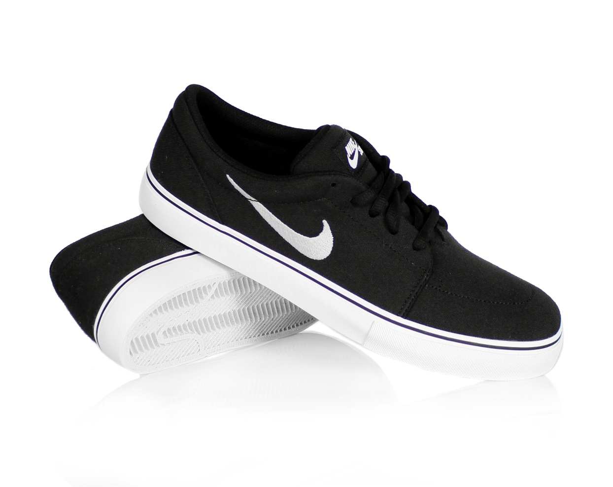 Buty Nike Satire Canvas (Black/White)