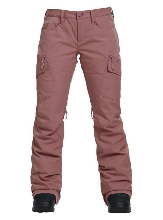 Damskie Spodnie Snowboardowe Burton Gloria Insulated (Rose Brown) W19