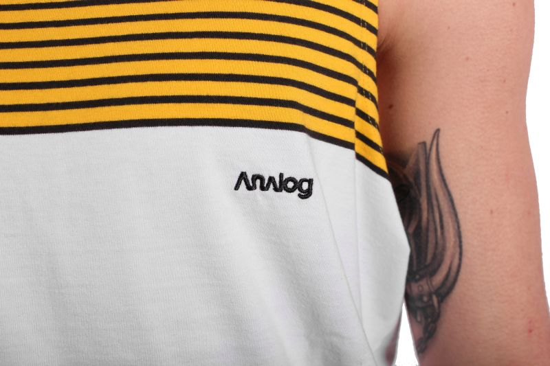 Koszulka Analog Boardwalk Tank (Corp Yellow)