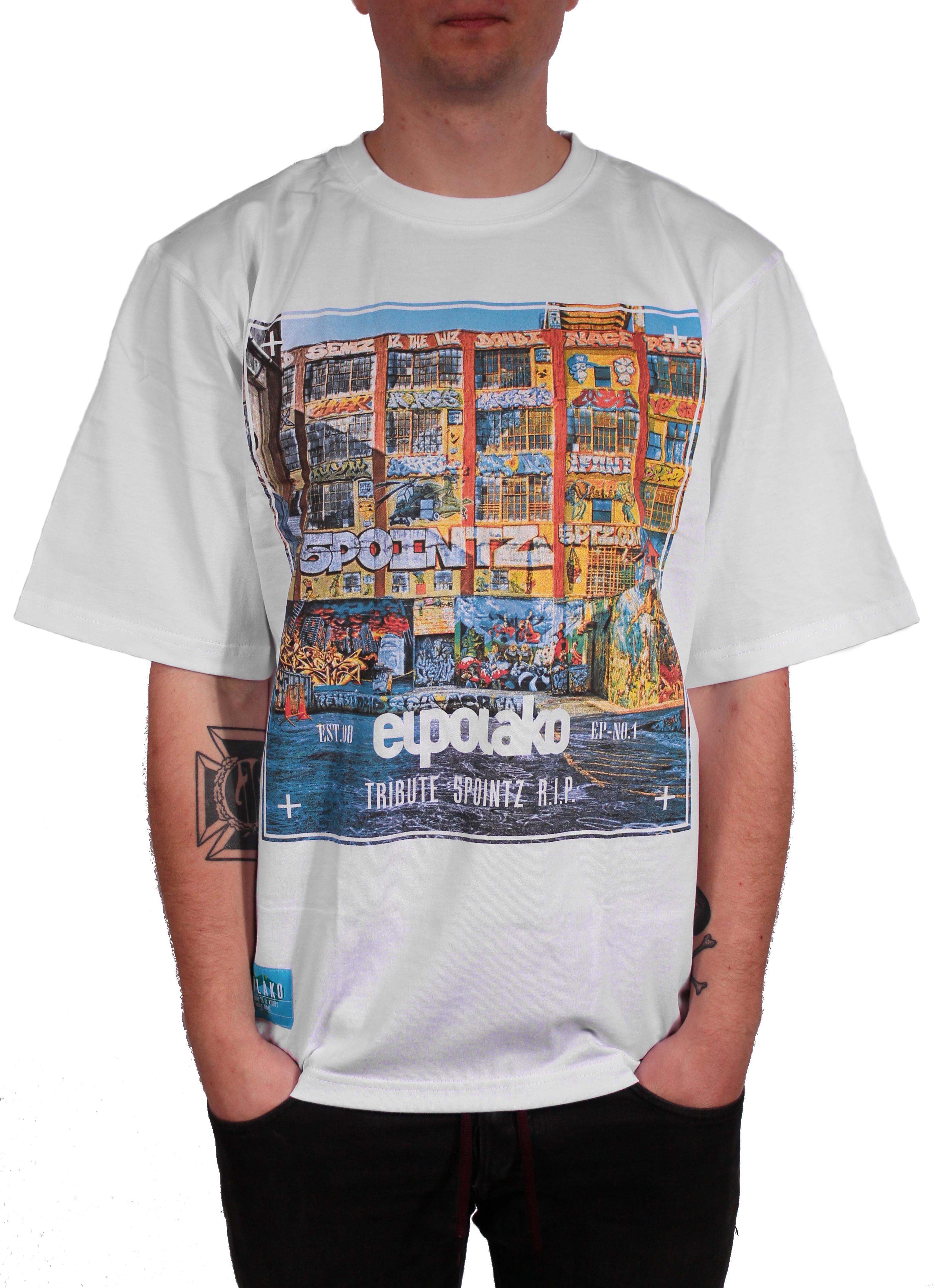 Koszulka El Polako 5 Pointz (White)