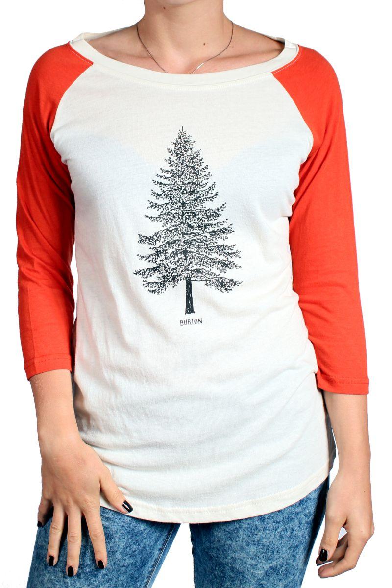 Longsleeve Burton Pine Raglan (Vanilla)