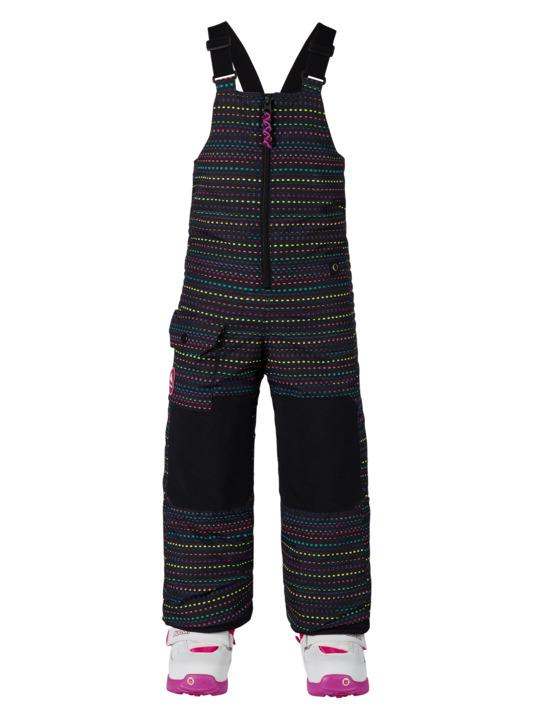 Dziecięce Spodnie Snowboardowe Burton Boys Minishred Maven Bib (Candy Dots) W18