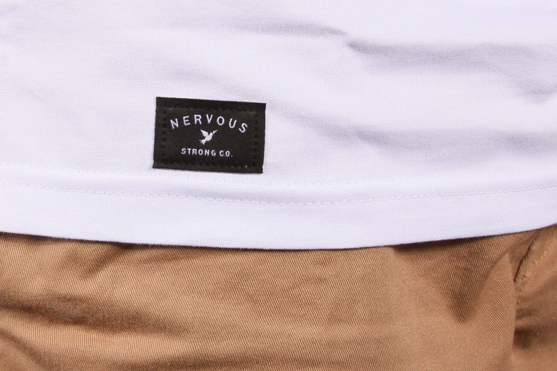 Koszulka Nervous Origami (White / Purple) Ss17
