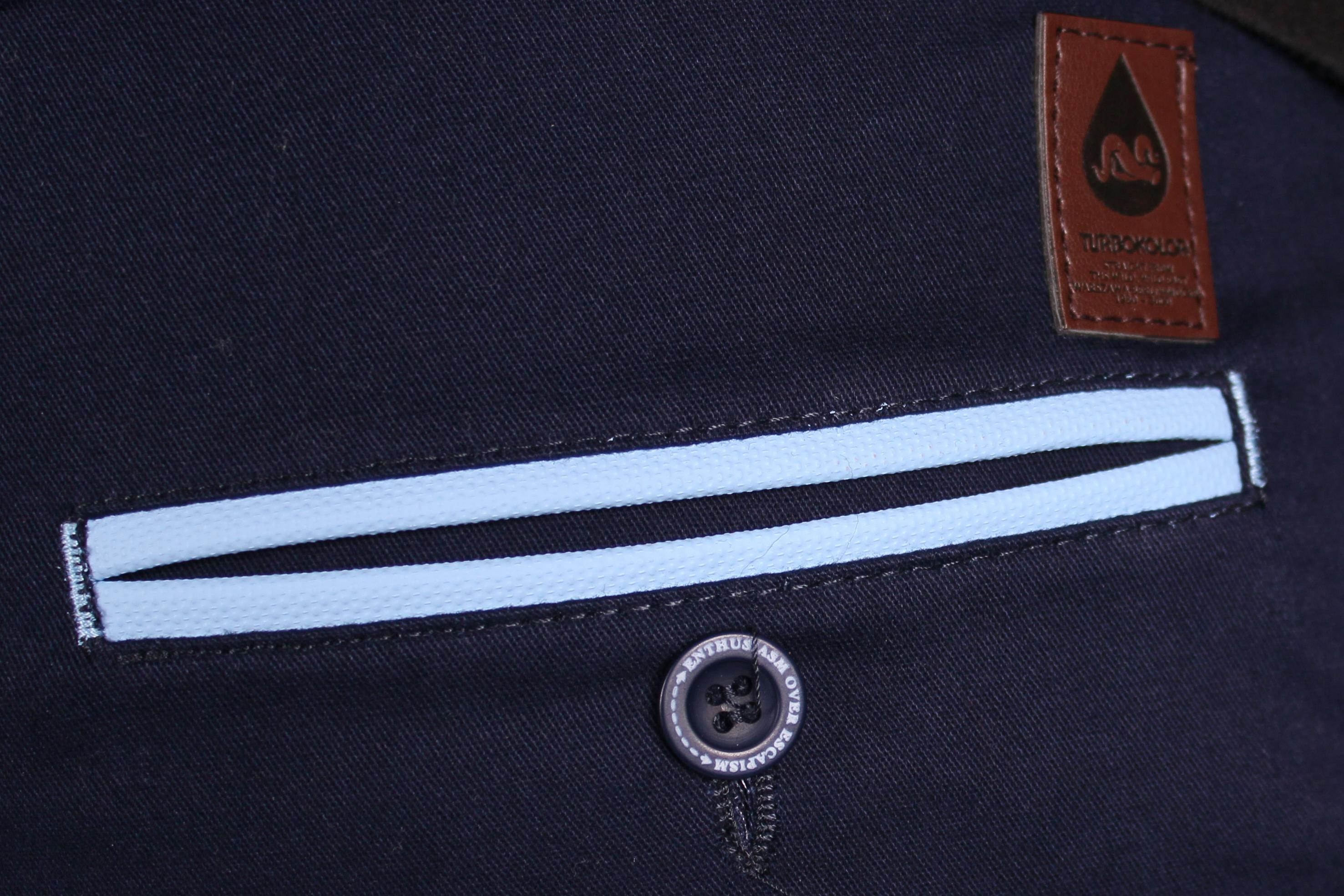 Spodnie Turbokolor Chinos Regular Fit (Navy)