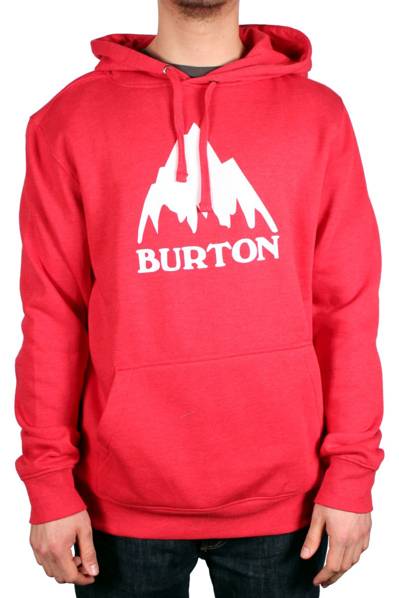 Bluza Burton Rpet Mountain Logo (Heather Cardinal)