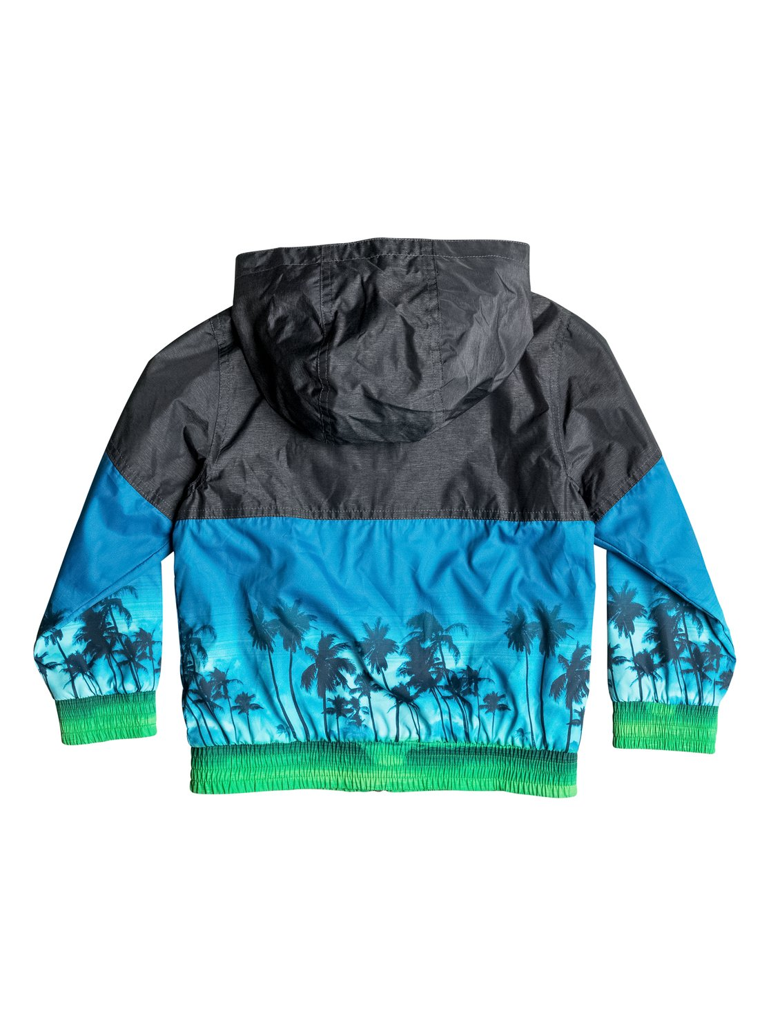 Dziecięca Kurtka Quiksilver Waves Jacket (Dark Grey Heather) Ss17