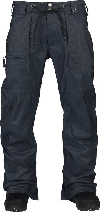 Spodnie Snowboardowe Burton Southside Mid (Blue Denim)