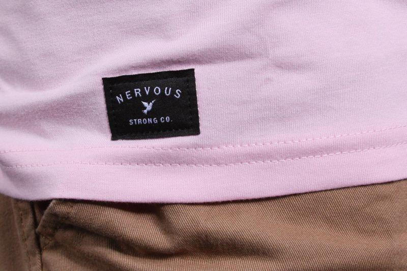 Koszulka Nervous World (Light Pink) Ss17
