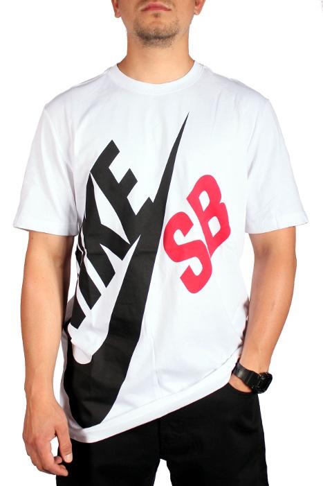 Koszulka Nike Sb Big Sb (White)