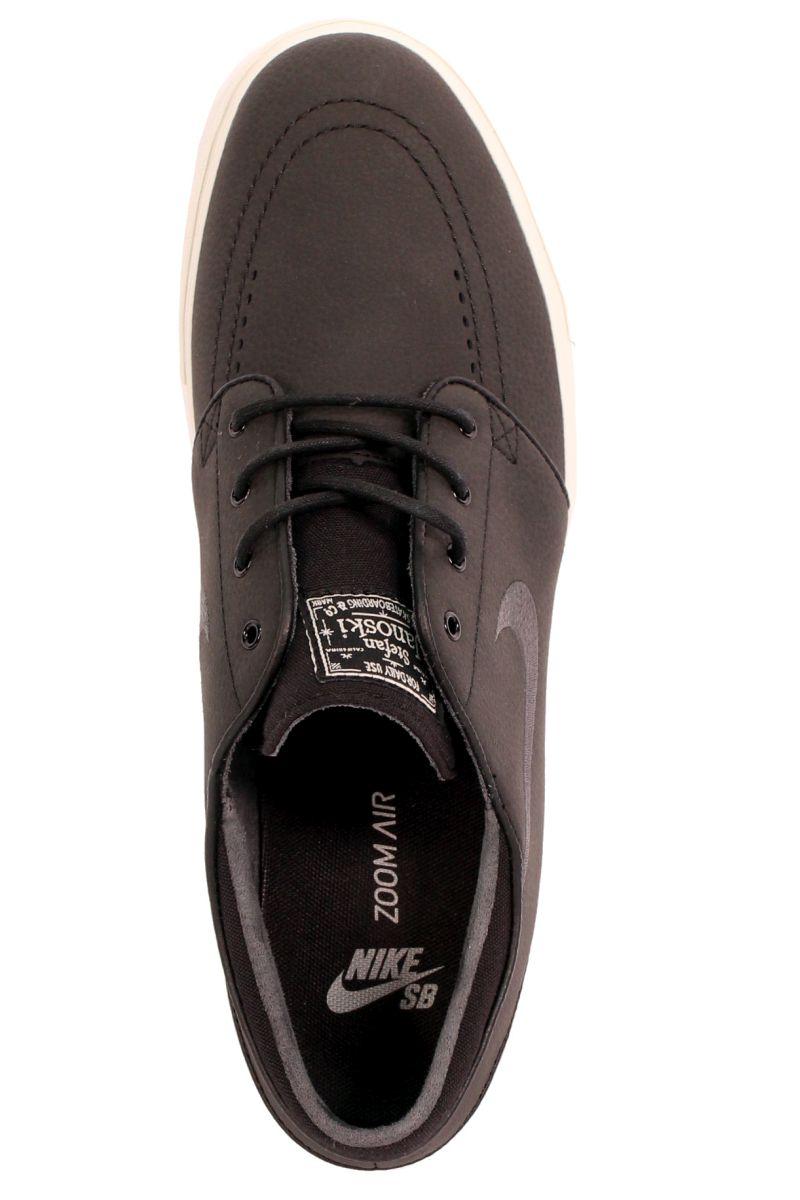 Buty Nike Sb Zoom Stefan Janoski L (Black/Anthrct/White Gum)