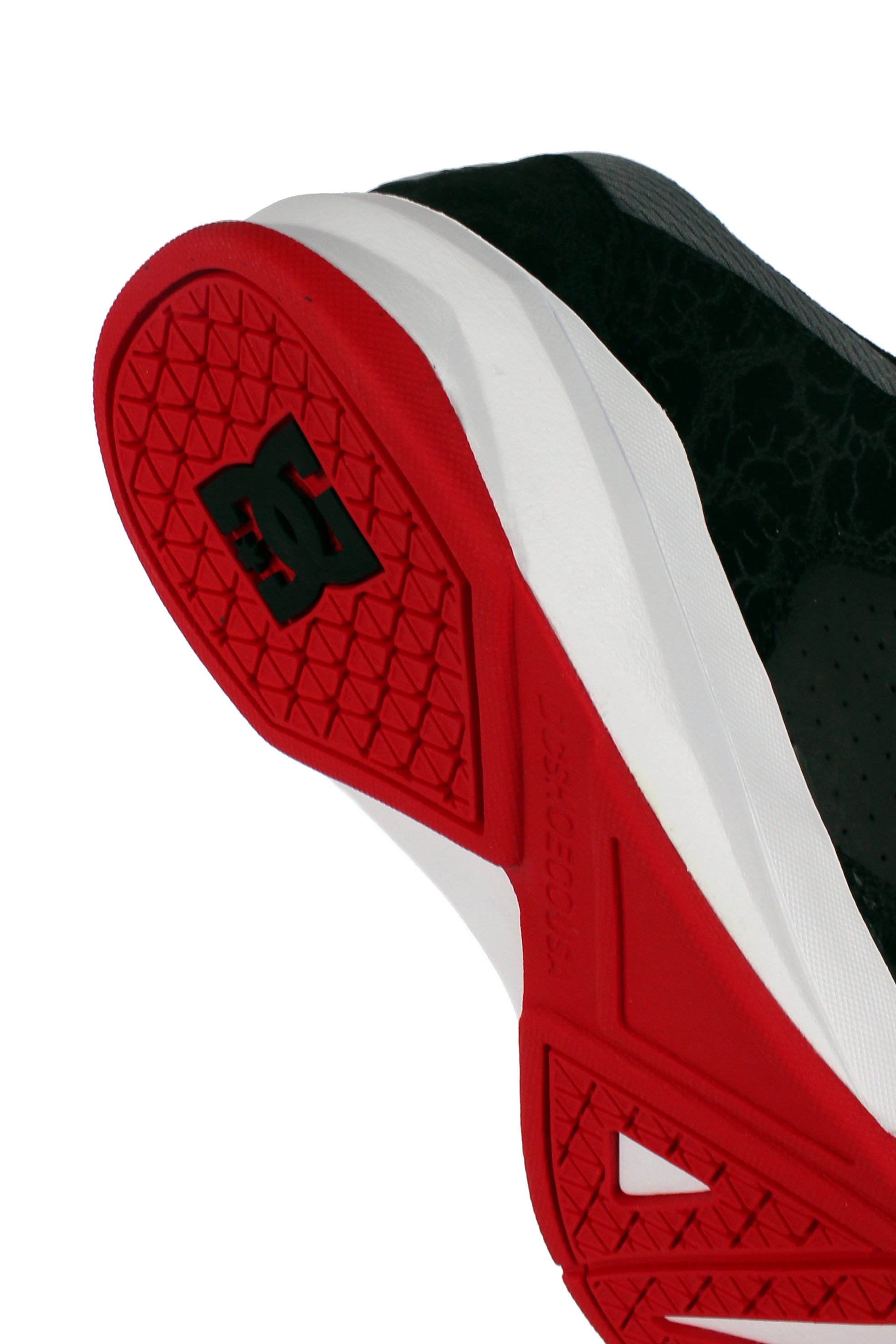 Buty Dc Contrast Mid (Blk/Red)