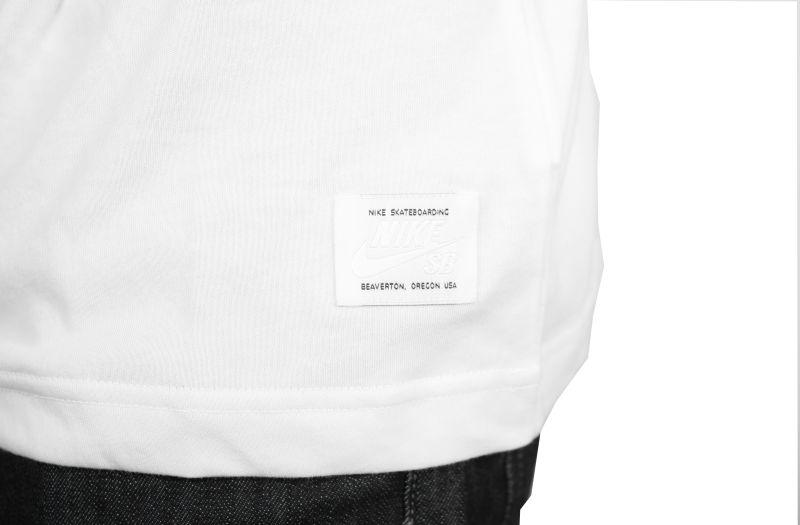 Koszulka Nike Sb Icon Logo (White)