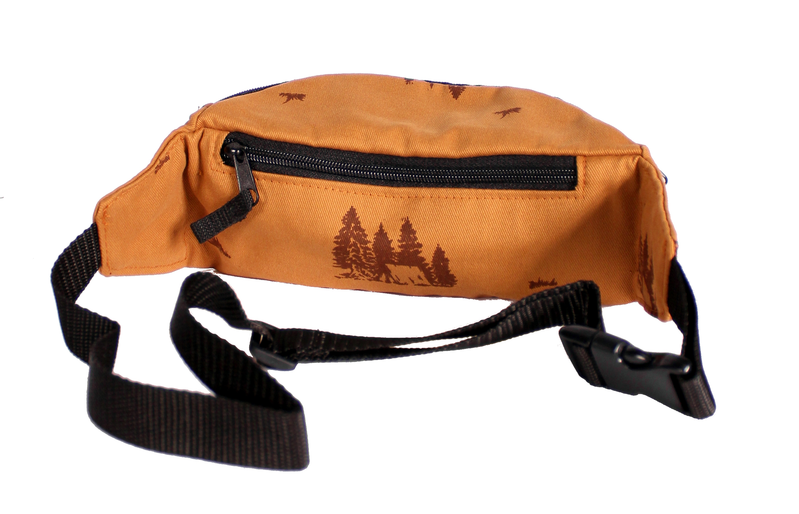 Nerka Turbokolor Hip-bag (Mustard/Camping Print)
