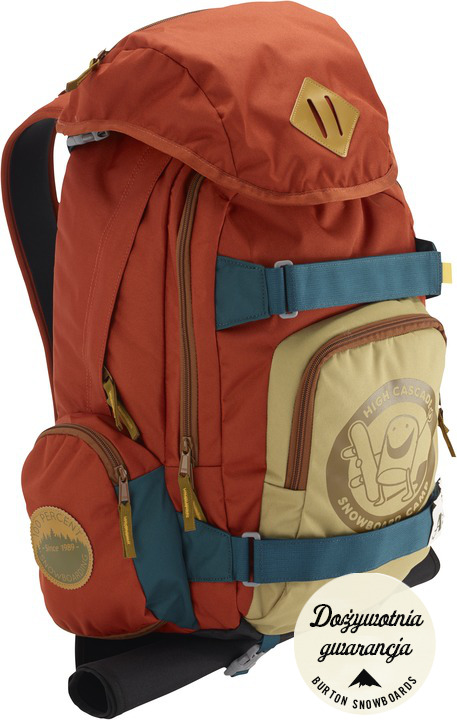 Plecak Burton Hcsc Shred Scout Pack (Orange/ Blue)