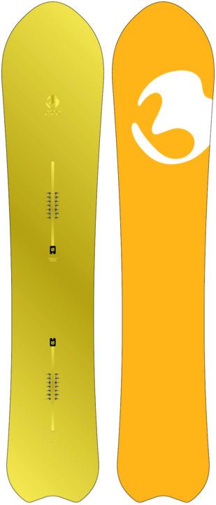 Deska Snowboardowa Burton Fish 160