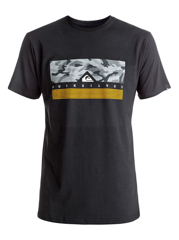 Koszulka Quiksilver Jungle Box (Black) Ss17
