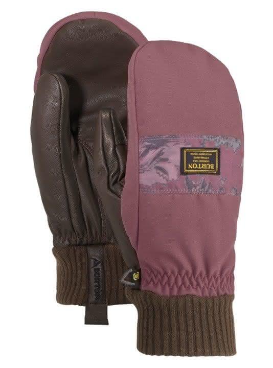 Rękawice Snowboardowe Burton Dam Glove Mitt (Rose Brown / Floral Camo) W19