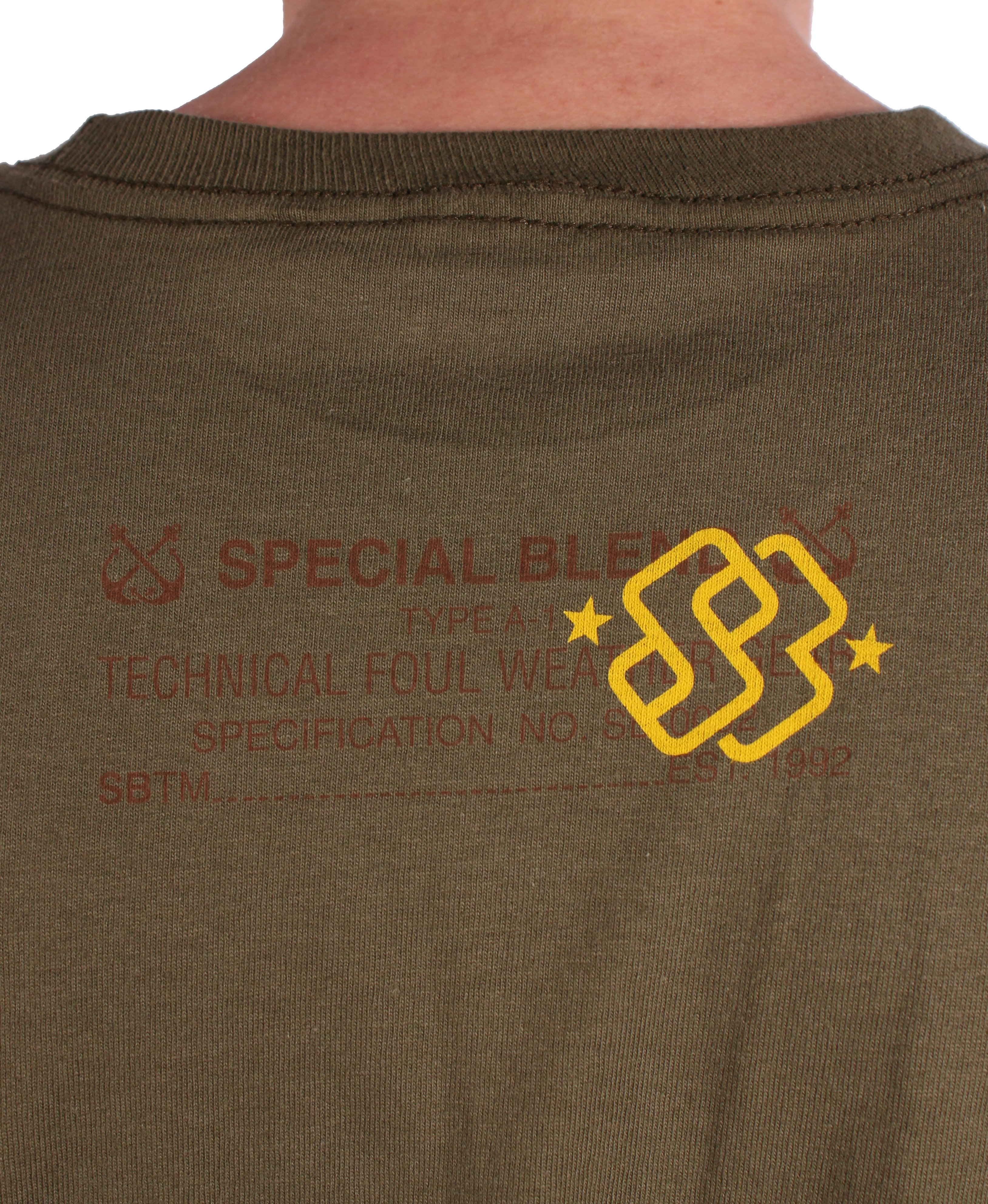 Koszulka Special Blend Stencil (Kermit)