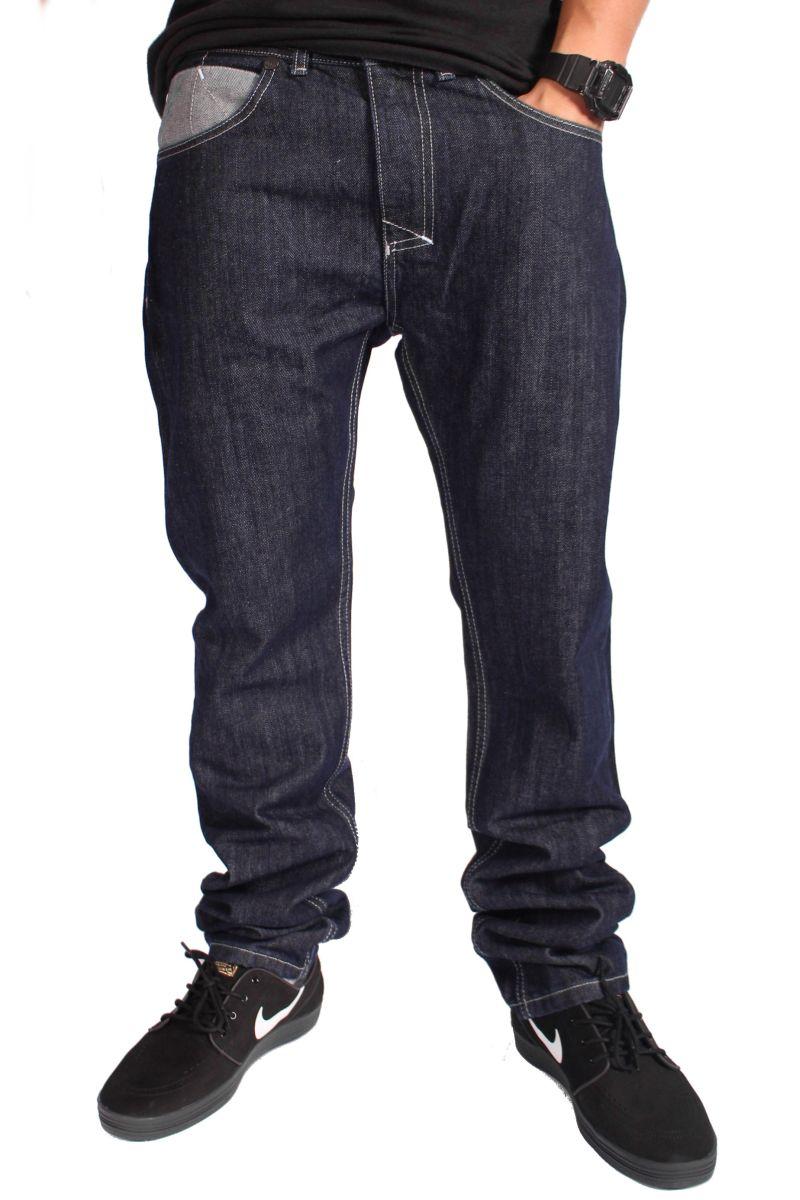 Spodnie Mass Denim Jeans Pocket (Rinse)