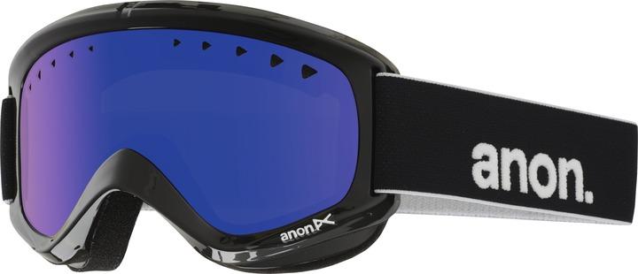 Gogle Anon Helix Mirror + Szybka (Black / Blue Solex) W16