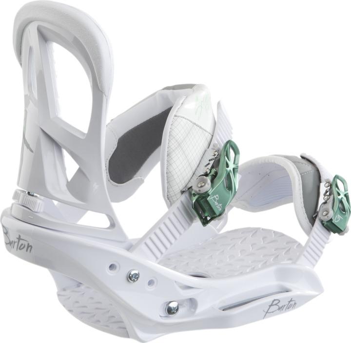 Wiązania Snowboardowe Burton Scribe Est Wmn (White)