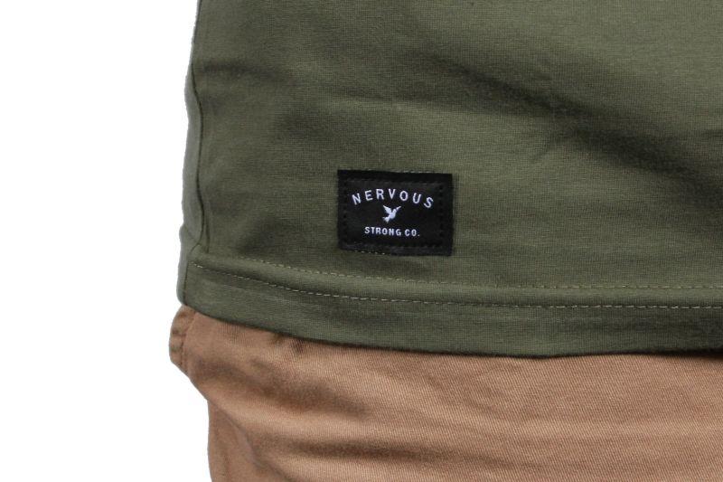 Koszulka Nervous Space (Olive) Ss17