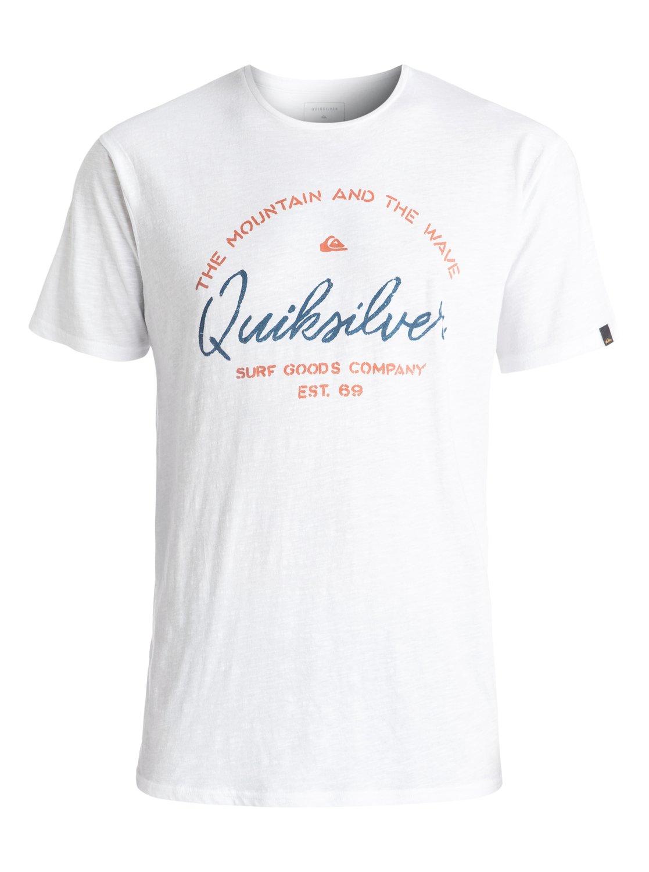 Koszulka Quiksilver Slub Hero Bay (White) Ss17