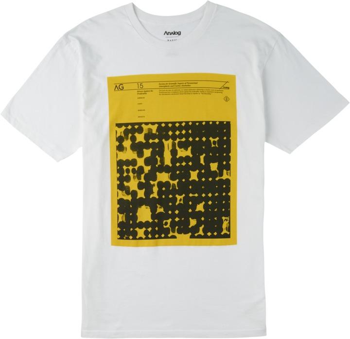 Koszulka Analog Anomalies (White)