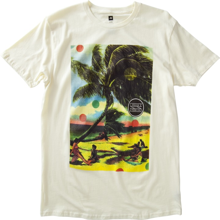 Koszulka Analog Beach Daze Slim (Vellum)