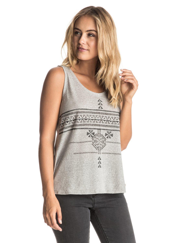 Koszulka Damska Roxy V Twist (Heritage Heather) Ss17