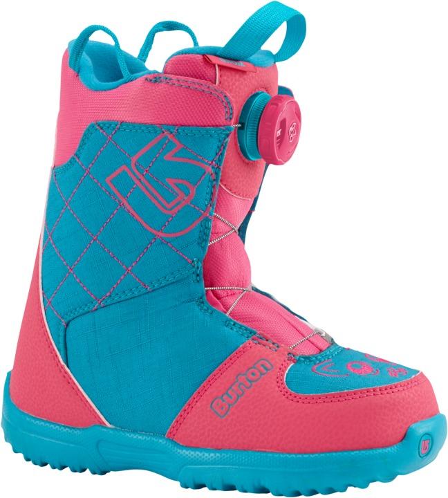 Dziecięce Buty Snowboardowe Grom Boa (Pink / Teal) W17