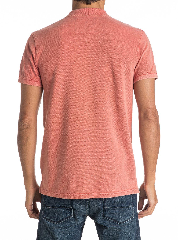 Koszulka Polo Quiksilver Miz Kimitt (Burnt Sienna) Ss17