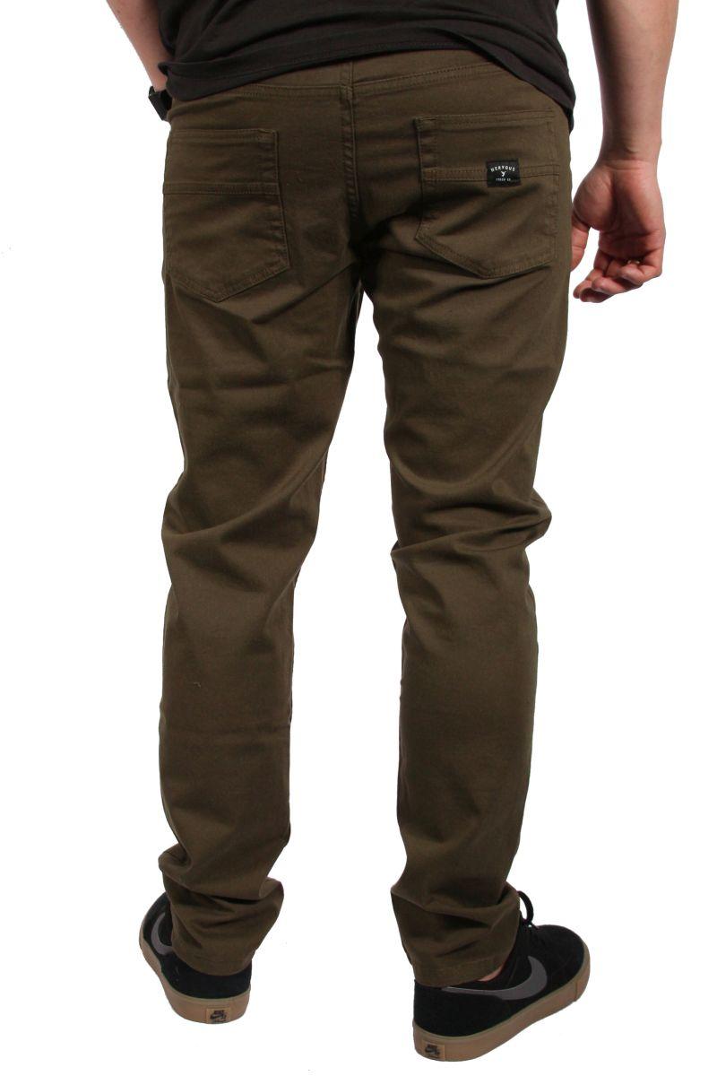Spodnie Nervous Turbostretch Ct Ss17 (Olive)