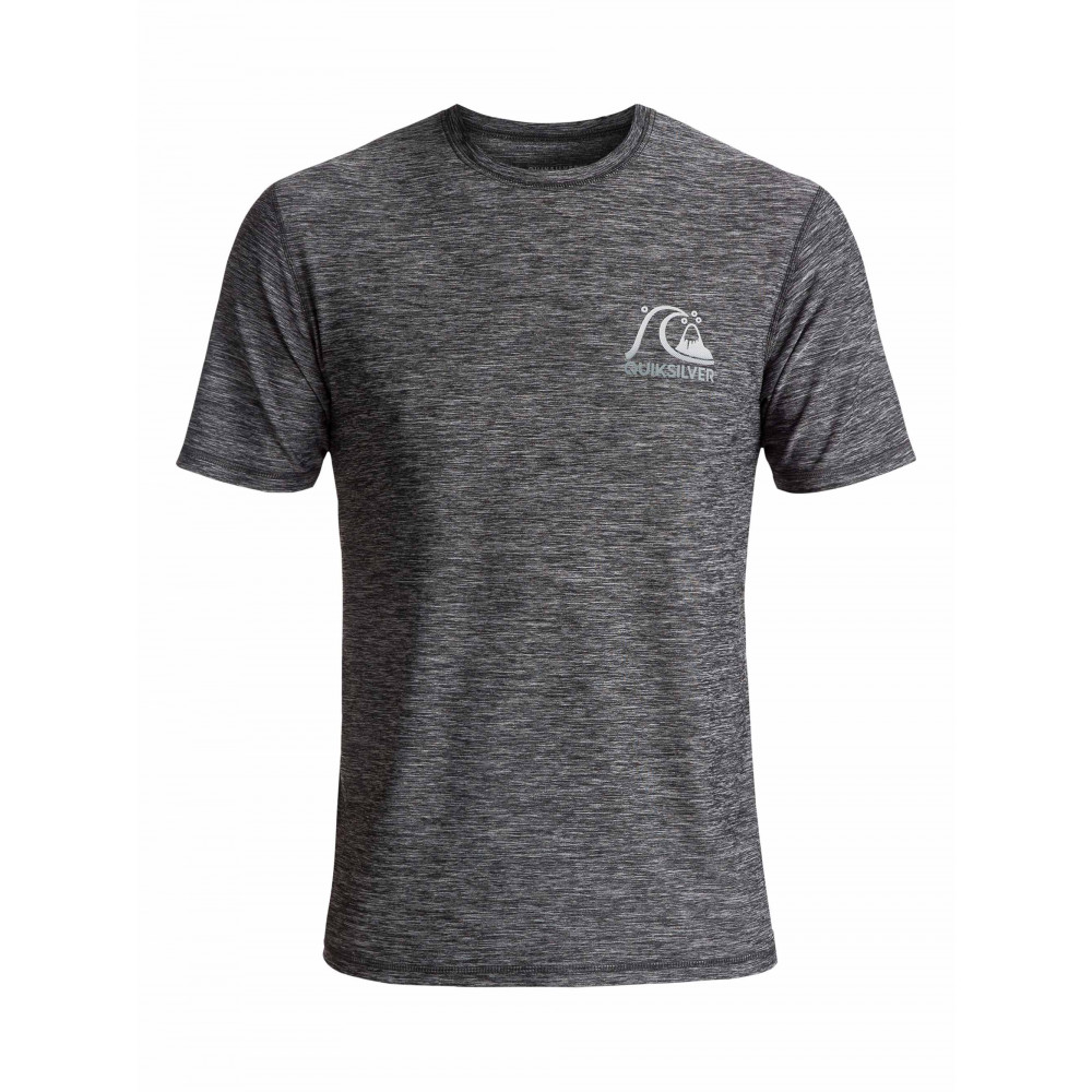 Lycra Quiksilver Scrypto Surf Amphibian Tee (Black) Ss18