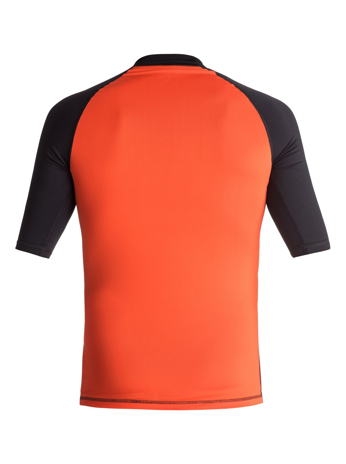 Lycra Quiksilver Active - Short Sleeve Rash Vest (Flame / Black) Ss17