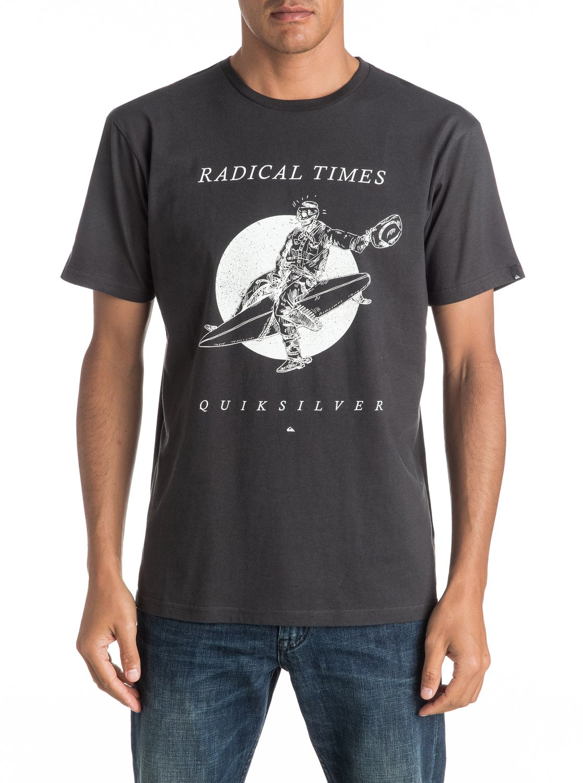Koszulka Quiksilver Space Cowboy (Tarmac) Ss17