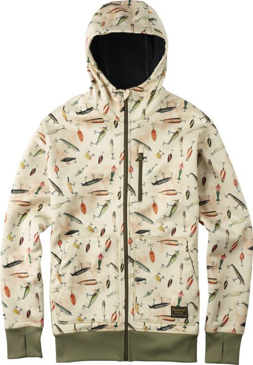Bluza Aktywna Burton Bonded Hdd (Fishing Lure Print)