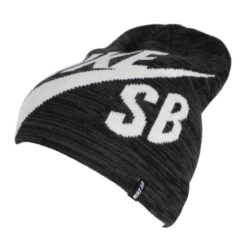 Czapka Nike Sb Wrap Beanie (Black/Aviator Grey/White)