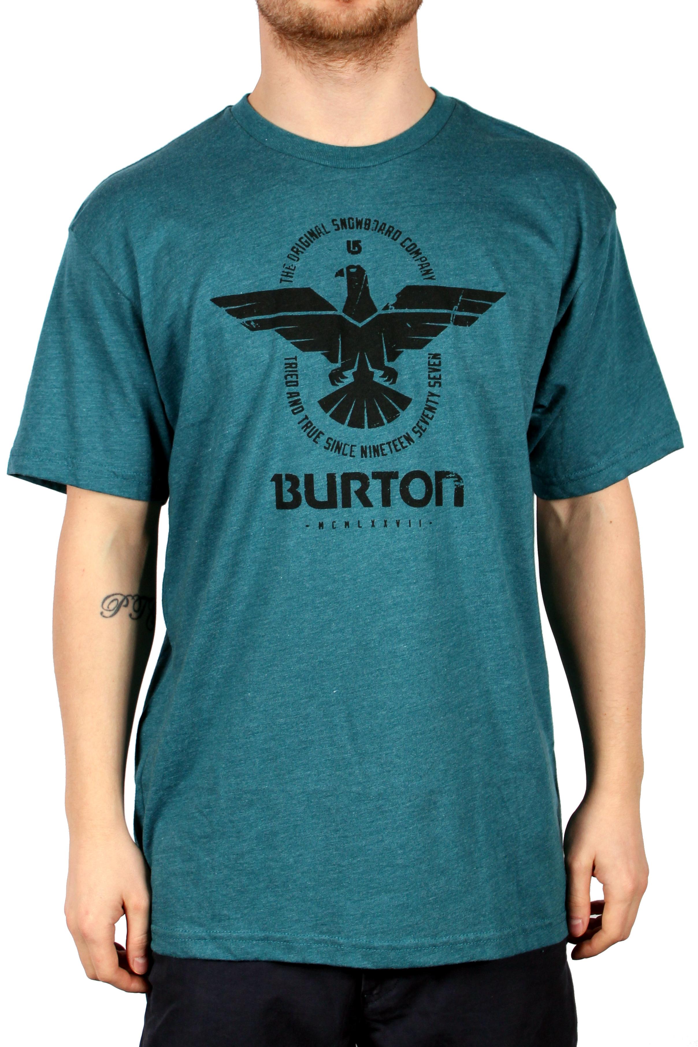 Koszulka Burton Caswell (Heather Cerulean)