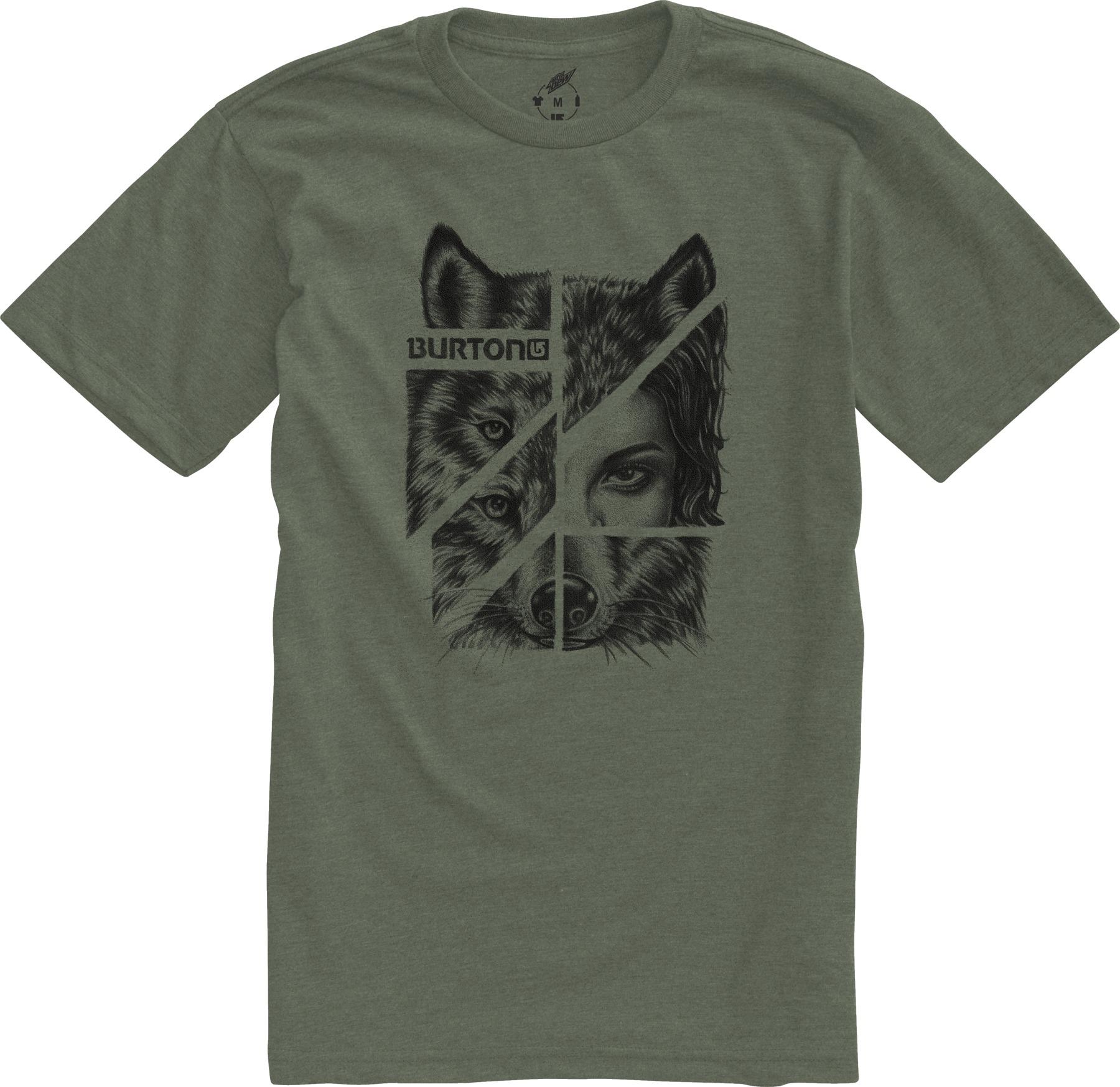 Koszulka Burton Shewolf Recycled (Heather Loam)