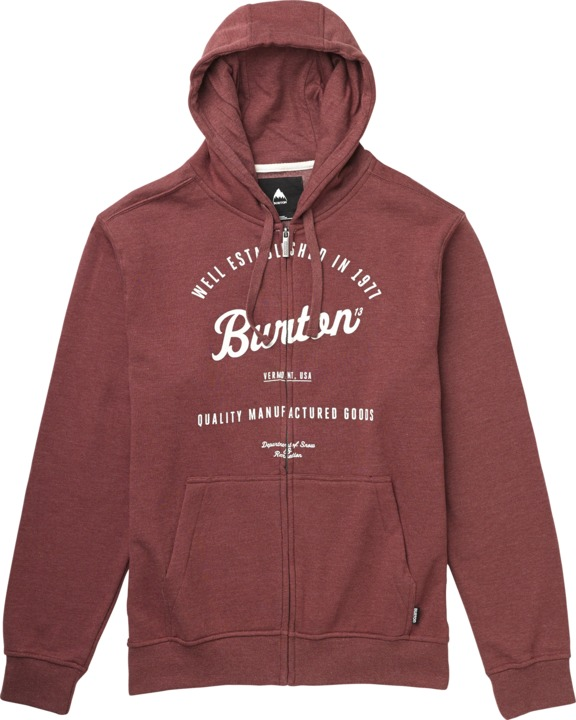Bluza Burton Quality Goods (Heather Oxblood)
