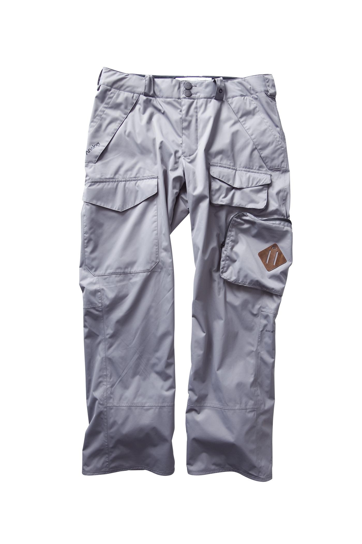 Spodnie Snowboardowe Analog Provision (Greyscale)