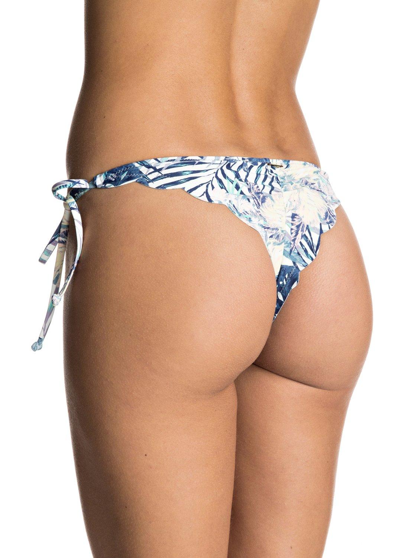 Dół Od Bikini Roxy Sela Lovers Mini Bikini Bottoms (Marshmallow Beyond Love) Ss17