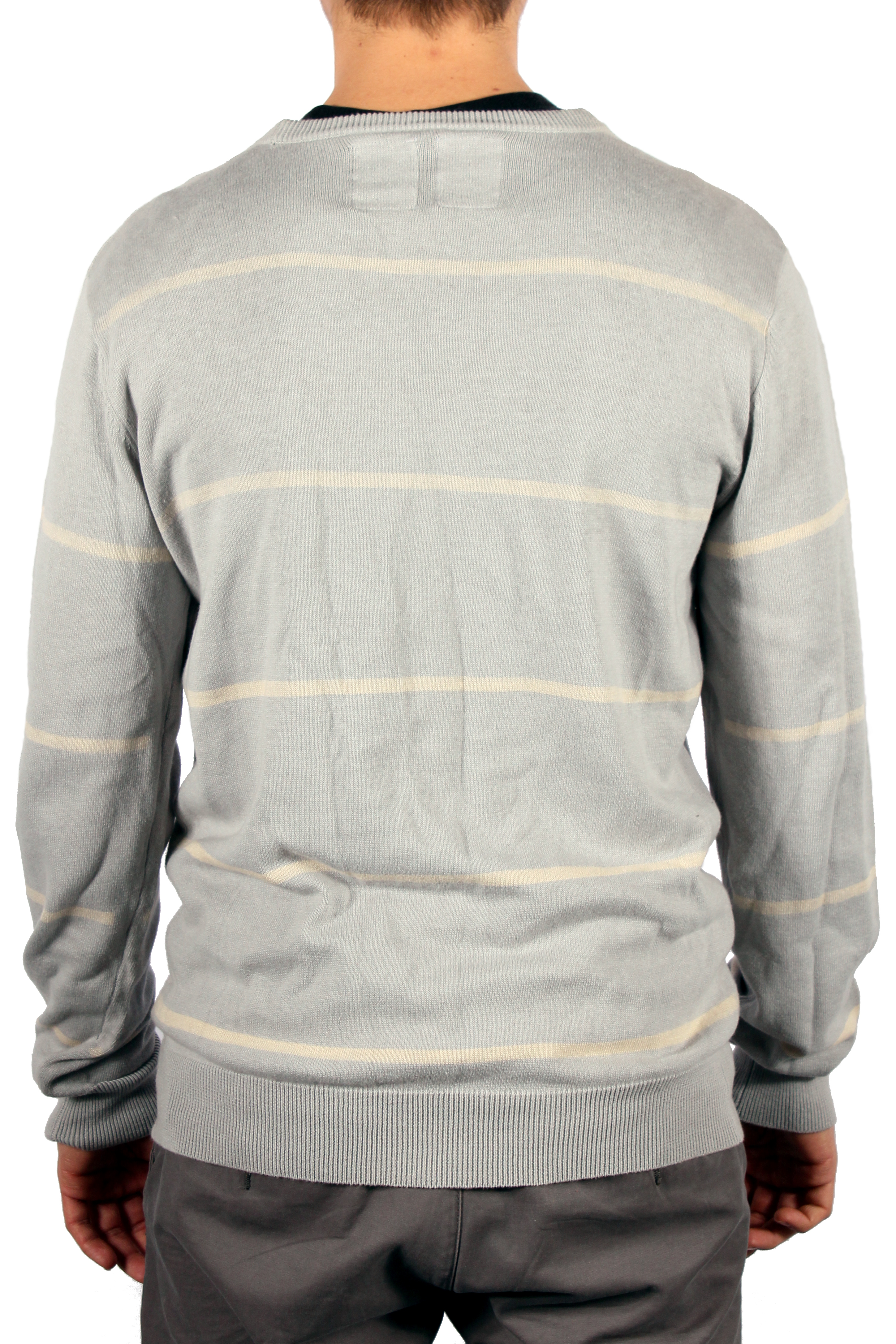 Sweter Analog Crew Sweater (Light Grey)